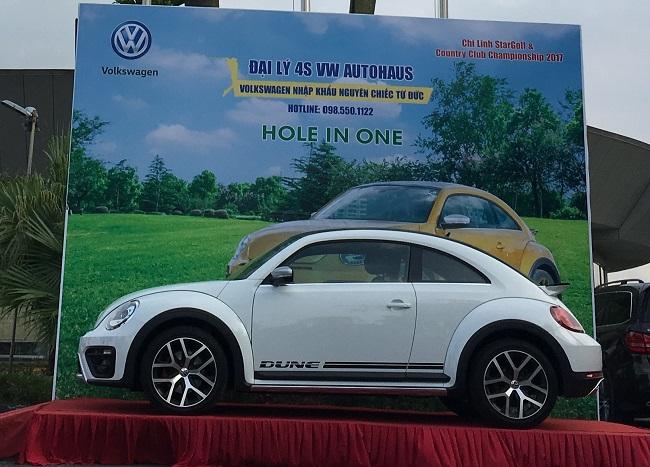 Mẫu Beetle Dune cũng được trưng bày tại giải golf